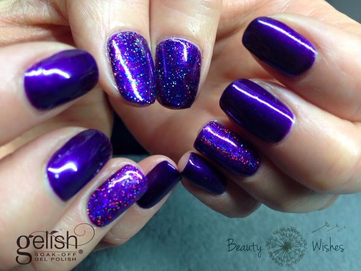 Gelish Quotcall Me Jill Frostquot With Some Magpie Loose Glitter