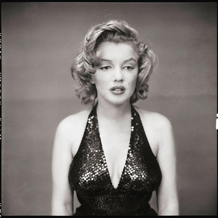Richard Avedon, portrait of Marilyn Monroe, 1957