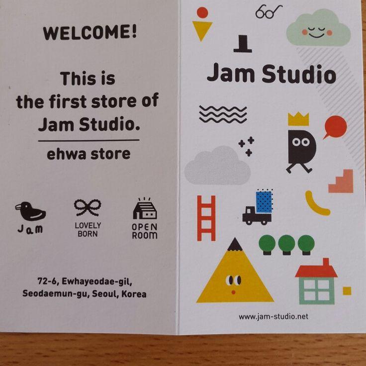 Jam studio card