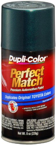 Dupli-Color BTY1597 Classic Green Pearl Toyota Exact-Match Automotive Paint - 8 oz. Aerosol - http://www.caraccessoriesonlinemarket.com/dupli-color-bty1597-classic-green-pearl-toyota-exact-match-automotive-paint-8-oz-aerosol/  #Aerosol, #Automotive, #BTY1597, #Classic, #DupliColor, #ExactMatch, #Green, #Paint, #Pearl, #Toyota #All-Green-Automotive, #Green-Automotive