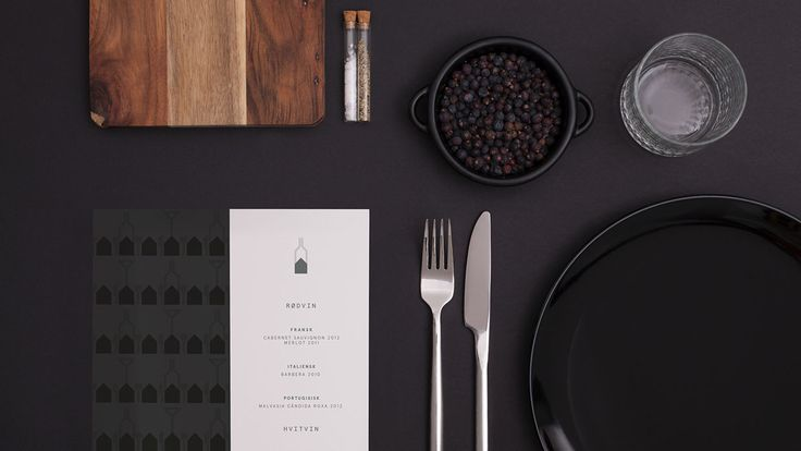 """Anti – Campaign branding for Scandic Hotel's restaurant Lucullus: """"Classic Bergen Dishes, Year 2014"""""""