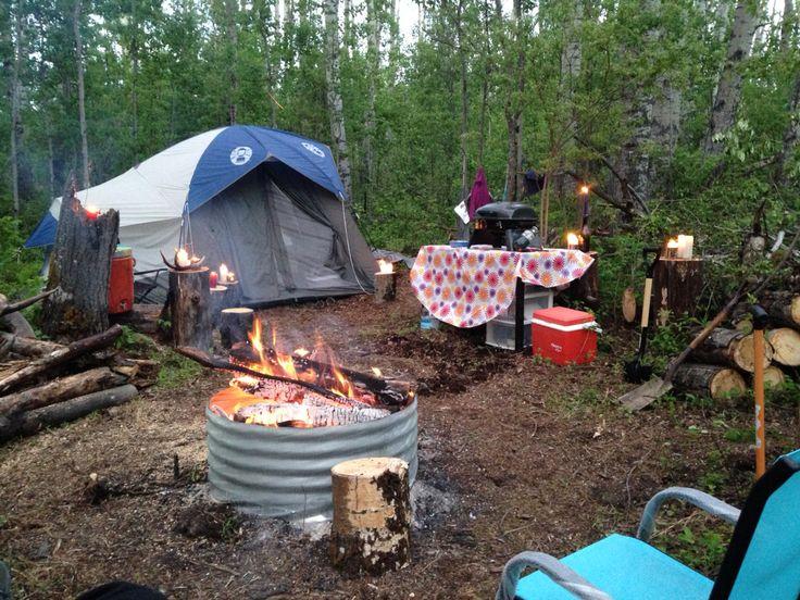 Comfy camping