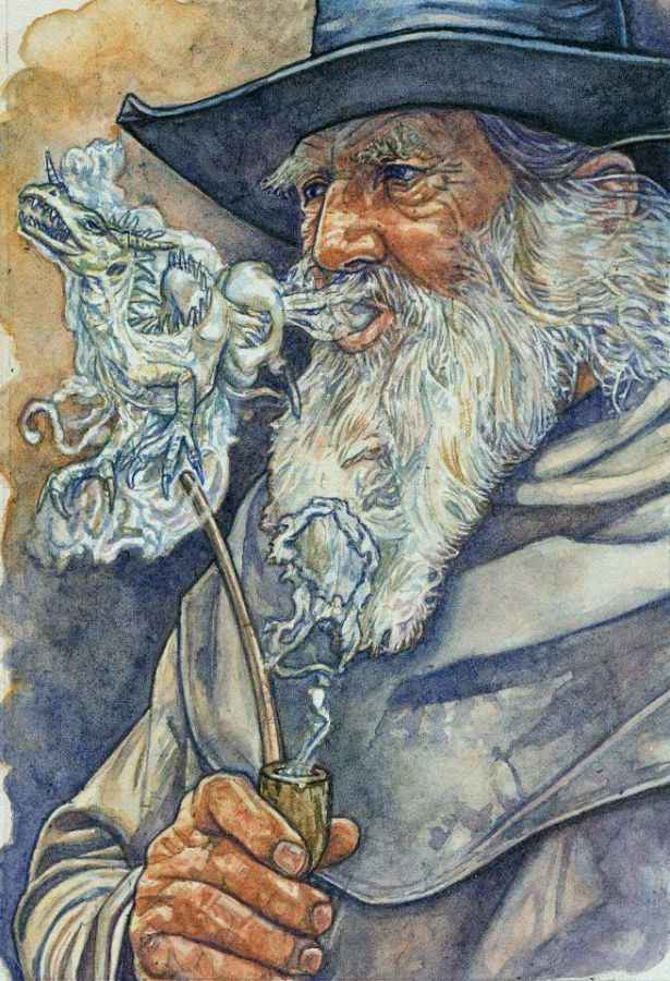 Gandalf, según Stephen Graham Walsh