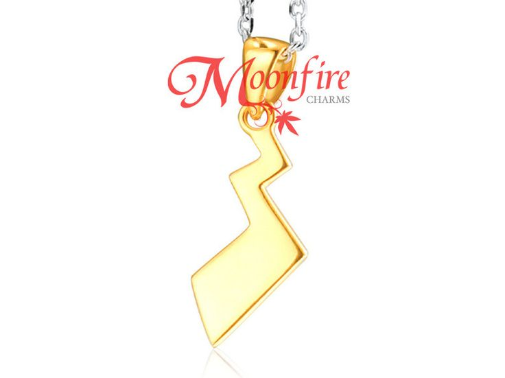 The 25 best pikachu tail ideas on pinterest pikachu game pokemon pikachu tail gold over sterling silver pendant necklace pronofoot35fo Image collections