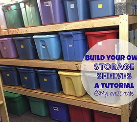 Build Your Own Storage Shelves In 2018 Do It Yourself Diy