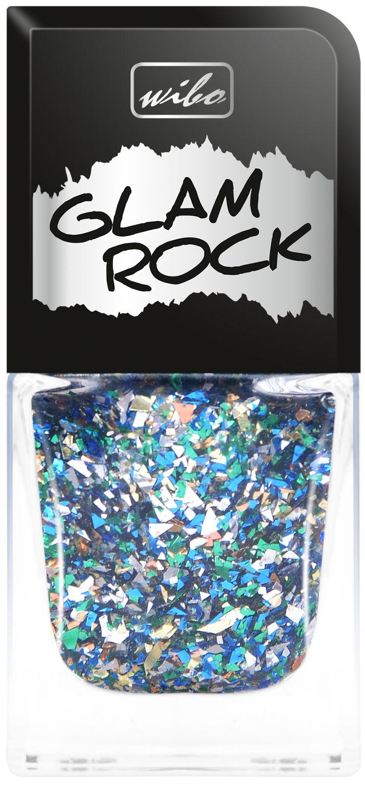 Wybierz GLAMOUR manicure!  Dla stworzenia manicure w odsłonie GLAMOUR idealny będzie nawierzchniowy lakier do paznokci Wibo, Glam Rock. Na dowolny lakier nałóż brokatowy Top Coat w odcieniach złota, srebra, zieleni i błękitu.  #nails #nailspa #paznokcie #mani #manicure #zadbane #dlonie #kobieta #kosmetyki #wibo #lakier #lakiery #kolor #rock #leather #blyszczace