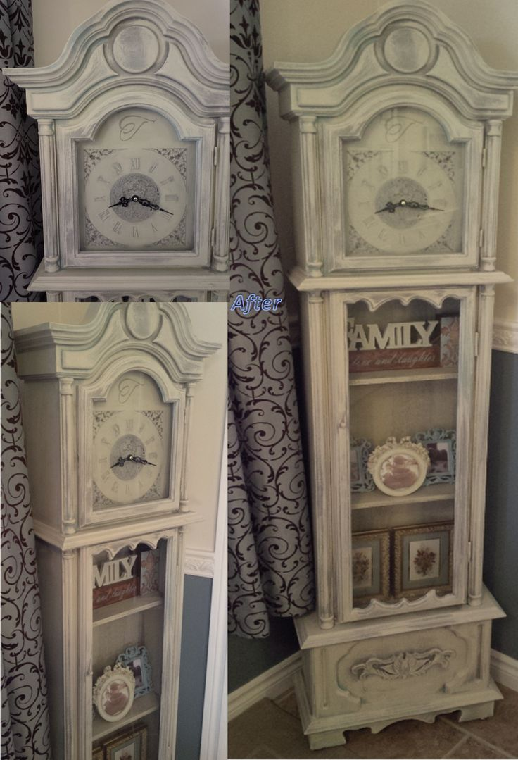 17 Best Images About Grandfather Clock Upcycle On