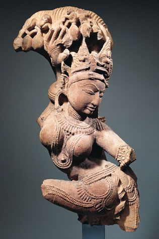 Celestial Entertainer  India, Rajasthan or Uttar Pradesh; 11th century  The Asia Society