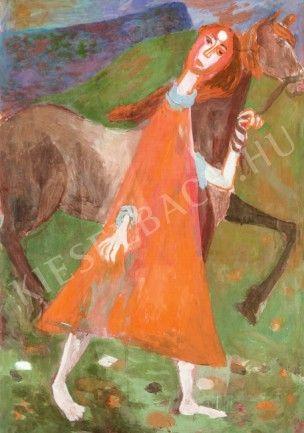 1937 Johanna by Hungarian Margit Anna, born Margit Sichermann, 1913~1991