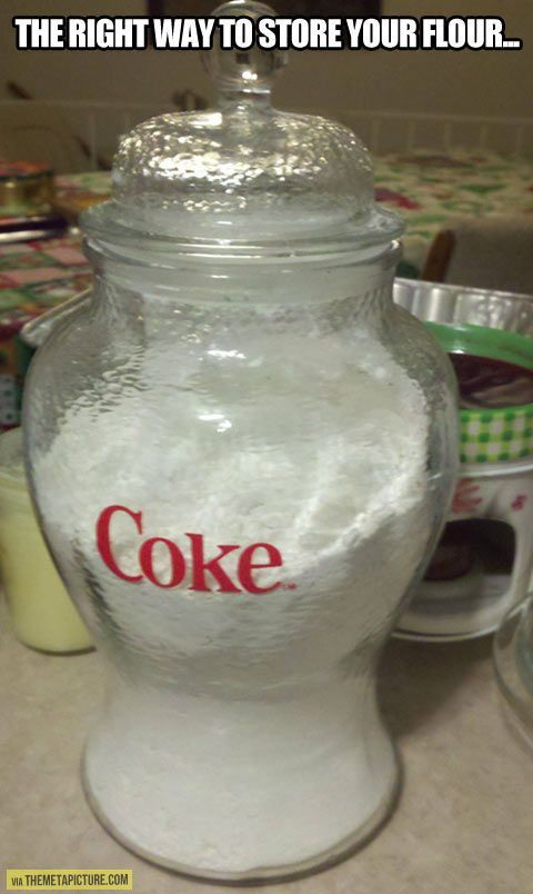Haha, I want one of these containers!