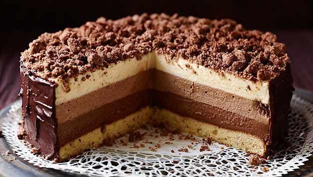 Geheime Rezepte: Schokoladentorte Tricolore