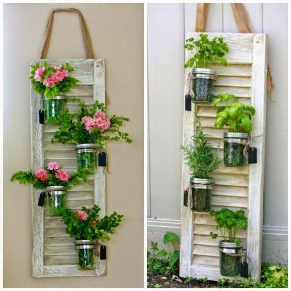 Die 25+ Besten Ideen Zu Blumenständer Auf Pinterest ... Blumenstander Selber Bauen Alte Holzleiter