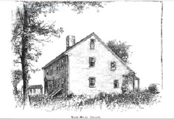 """Nurse House, Danvers"" illustration published in The New England Magazine Volume 5 circa 1892. #salemwitchtrials"
