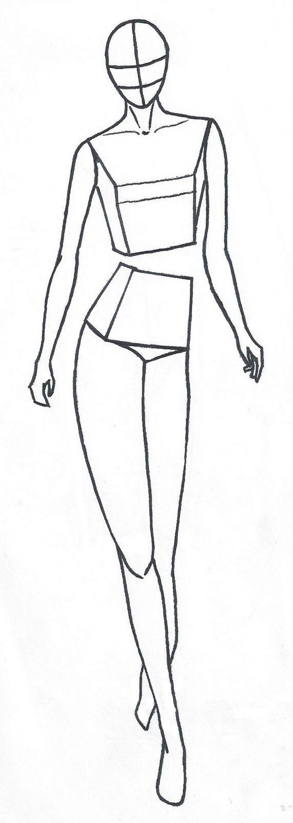 silhouette | fashion figure | Pinterest