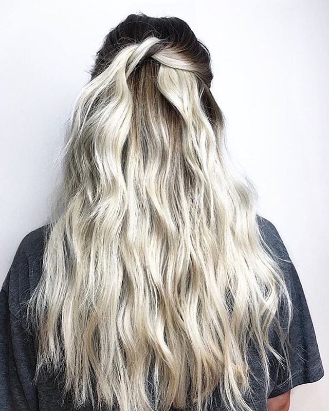White Tie Affair Hair By Kali Kaliblondes Fox And Jane East Village Balayage Haircolor Hair Hairstyles Hair Styles Hair Game Strong Hair Game