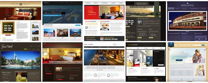 Free Hotel Website Templates