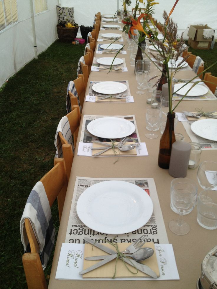 Tablesetting Dads 70th Birthday Expo Pinterest 70th