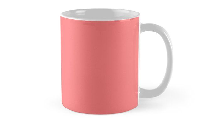 'Watermelon Pink' Mug by Moonshine Paradise #watermelon #pink #pantone #mugs #decor