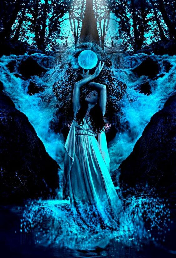 TETHYS (Τήθυς) was Protogenos (Primeval Goddess) of the flow of fresh-water
