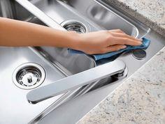 Lavaplatos de acero inoxidable | Cómo limpiar absolutamente (casi) todas y cada una de las cosas