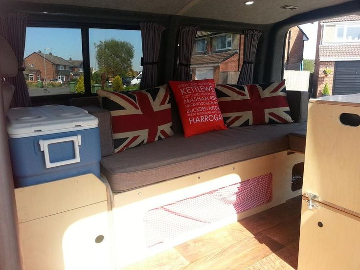 Design VW Campervan Interior Layout Ideas