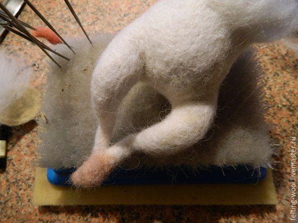 Мастер-класс: надежный способ крепления лапок на каркасной основе - Ярмарка Мастеров - ручная работа, handmade