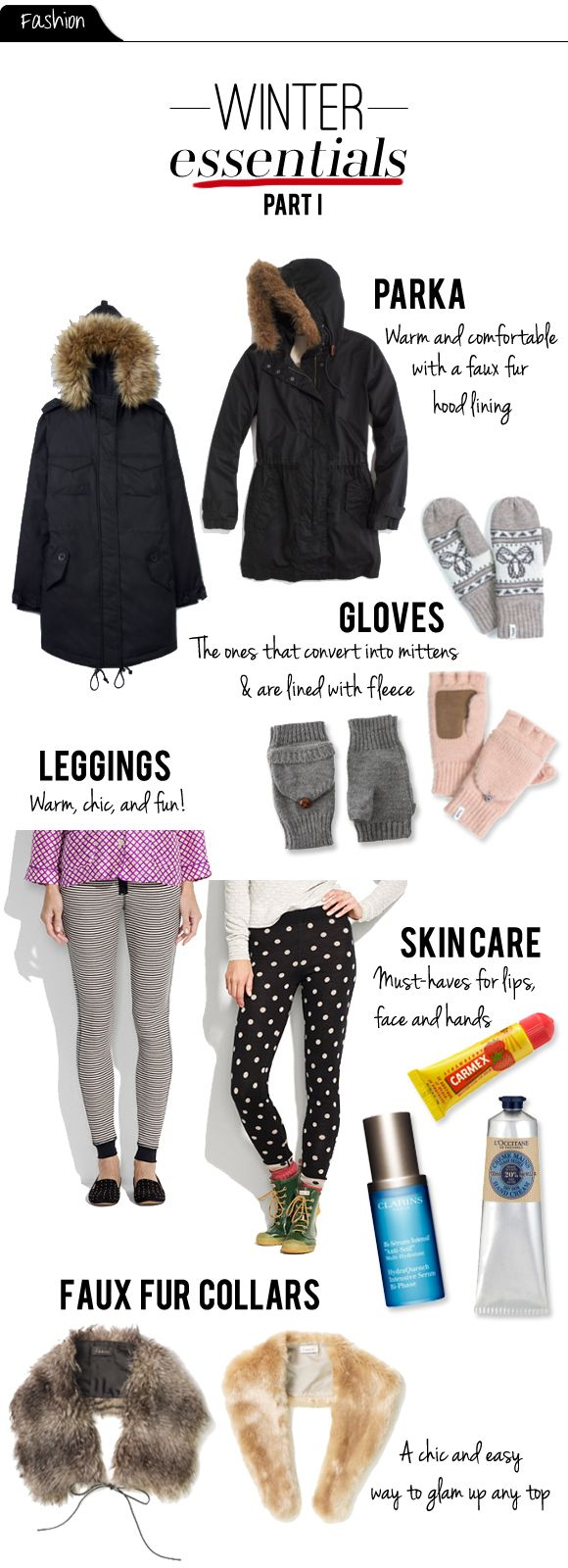 I thought I'd share my winter essentials with all of you. These are the things that I've been using and wearing non-stop and which withou...