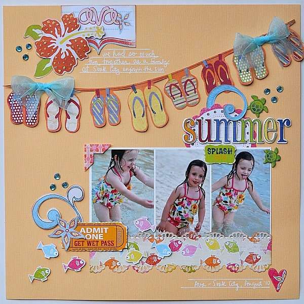 Cute summer page