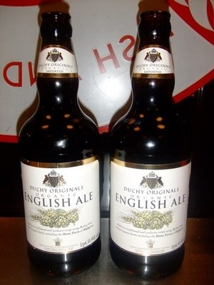 #Organic English Ale, popular beer from A Salt & Battery
