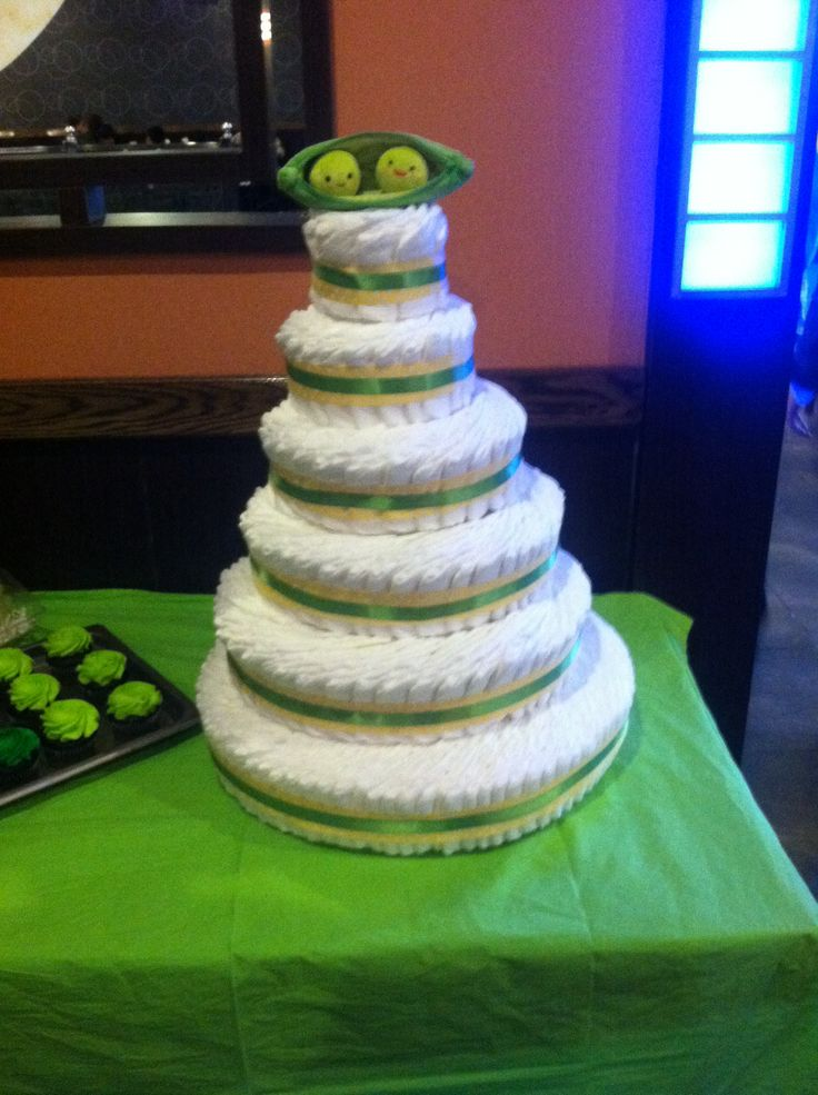 Two Peas In A Pod Diaper Cake Two Peas In A Pod Twin