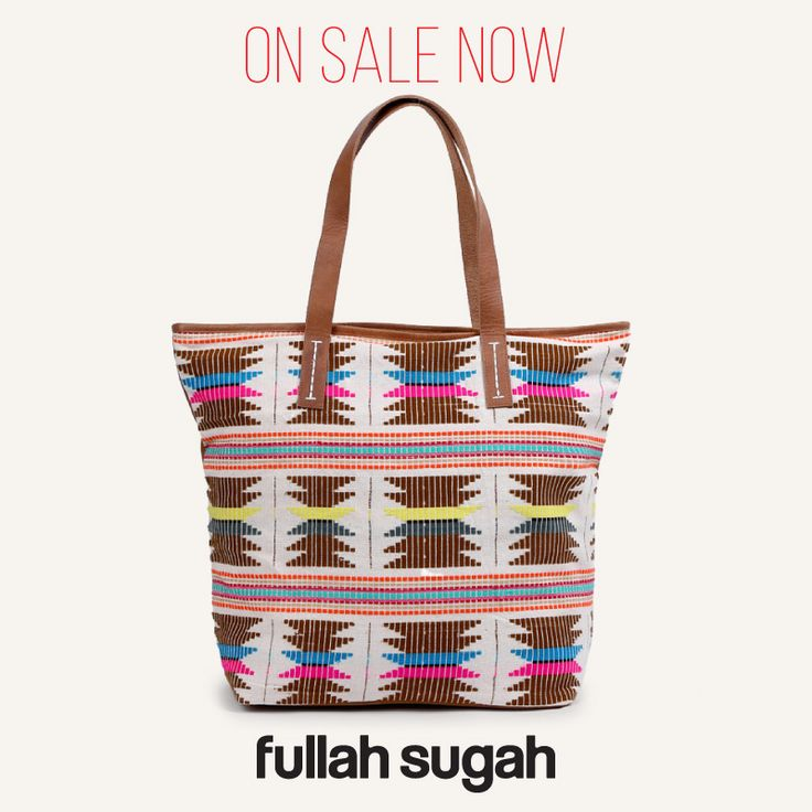 On Sale Now! FULLAHSUGAH Aztec τσάντα shopper   1434107820 #sales #trends #summer_look #bags #fullah_sugah #style