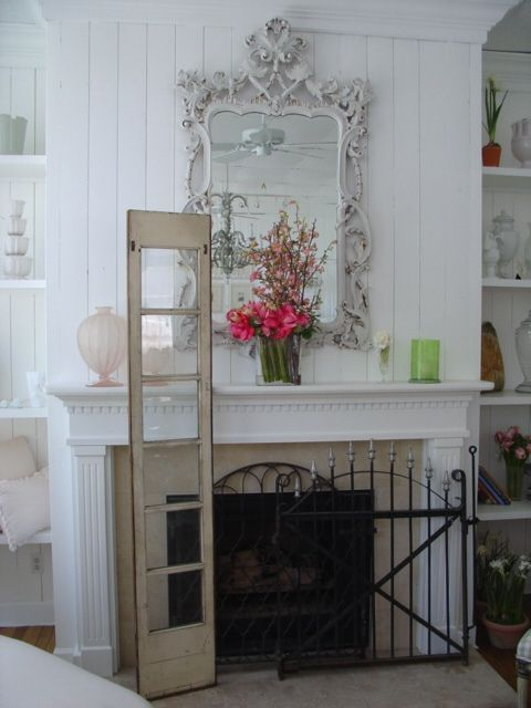 the 65 best shabby chic fireplaces images on pinterest fire rh pinterest co uk shabby chic mantel decor shabby chic fireplace mantel decor