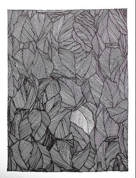 Milton Davis, Untiteled, 2012. Ink on Paper