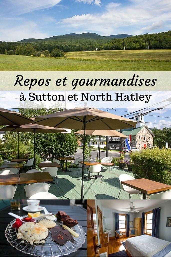Repos et gourmandises à Sutton et North Hatley, deux petits villages patrimoniaux du Québec qui valent le détour pour votre prochaine escapade au Canada, dans les Cantons-de-l'Est!