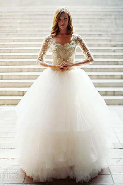 fairytale gown -> tutu