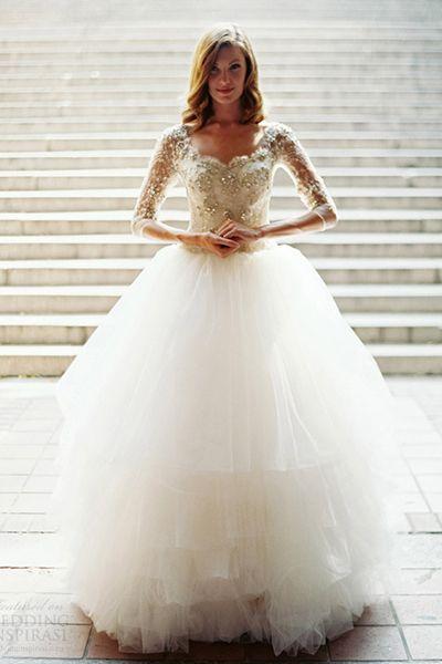 fairytale gown -> tutu