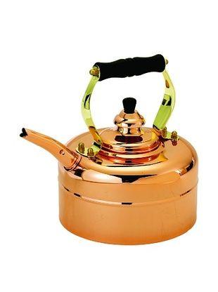 44% OFF Old Dutch International 3-Qt. Tri-Ply Copper Windsor Whistling Tea Kettle