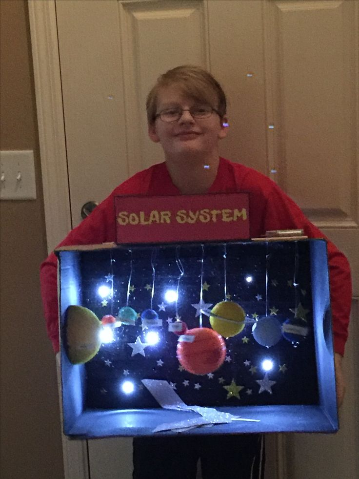 Ezra's 3rd grade solar system project | Kids' Stuff ...