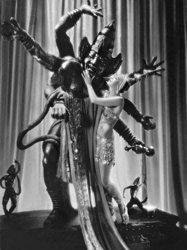 """Vintage Glamour Girls: Greta Garbo in """" Mata Hari """""""