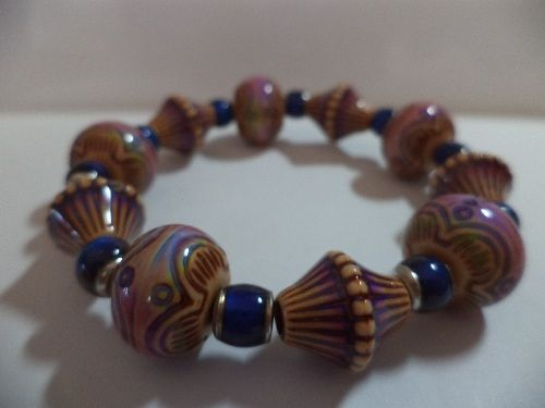 Color Change Mood Bead Stretch Bracelet (CL)