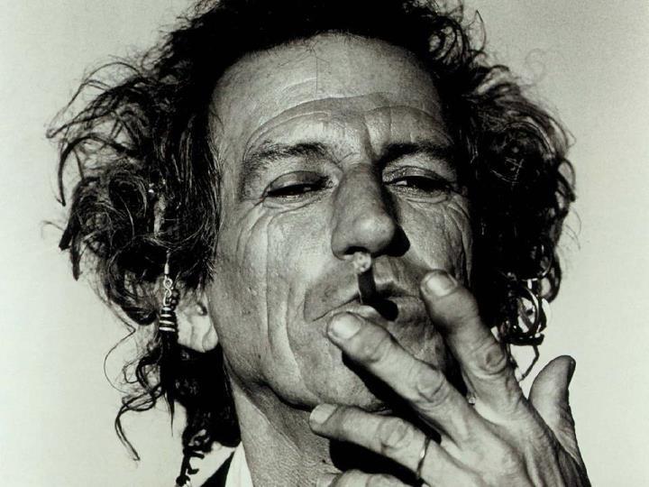 A Stone Smoking :)