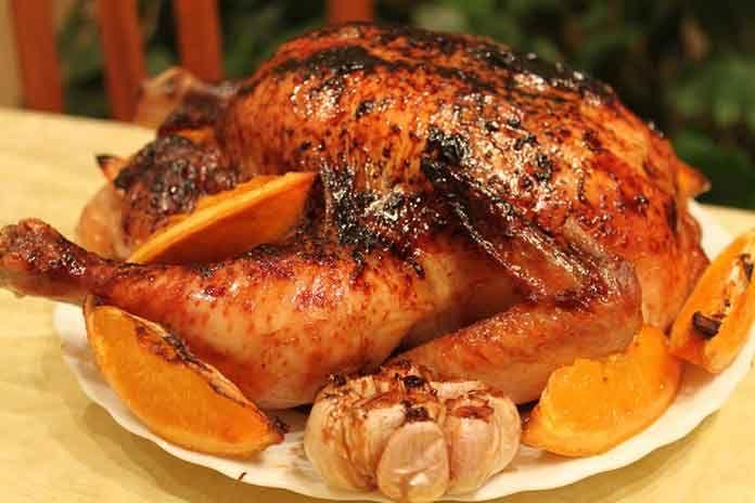 Курица с апельсинами в духовке | Готовим рецепты
