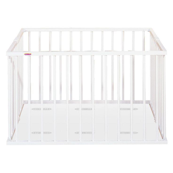 Parc pliant - Laqué Blanc Combelle Bébé- Large choix de Design sur Smallable, le Family Concept Store - Plus de 600 marques.