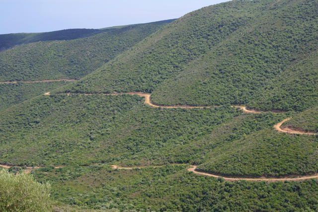 Südlicher Ausläufer vom Ithamos Gebirge auf Chalkidiki Sithonia