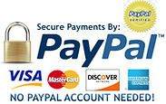 24-7 Party Paks is a Verified Paypal Business Merchant and offers Secure Payments at checkout - No Paypal Account  needed - just use your VISA or MasterCard or use your Paypal Login details.