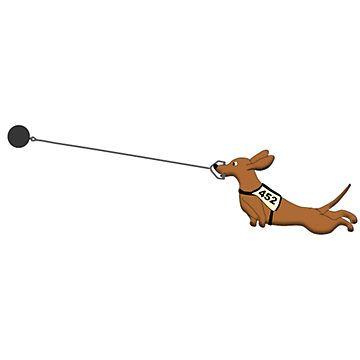 Hammer Throw Dog Dachshund Shirt Funny