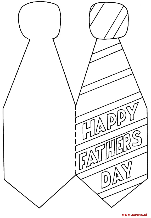 fathers day card worksheet - 519×720