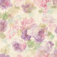 "Meadowlark Winifred 33' x 20.5"" Japanese Peony 3D Embossed Wallpaper"