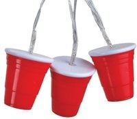 Red Solo Cup Party Lights!!  MUST have these!!  LOL