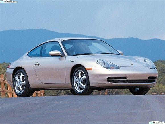 2001 Porsche 911 Carrera Coupe